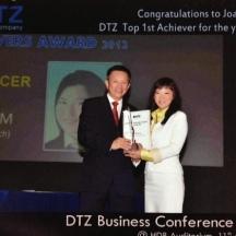 DTZ 1st Top Achiever
