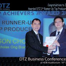 Jason Top Producer certificate