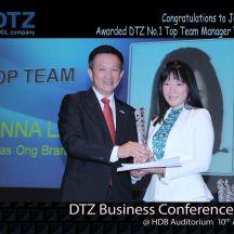DTZ 1st Top Team Award Joanna