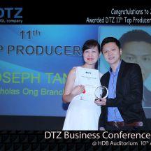 Joseph Top Producer award