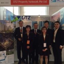 DTZ agent property show
